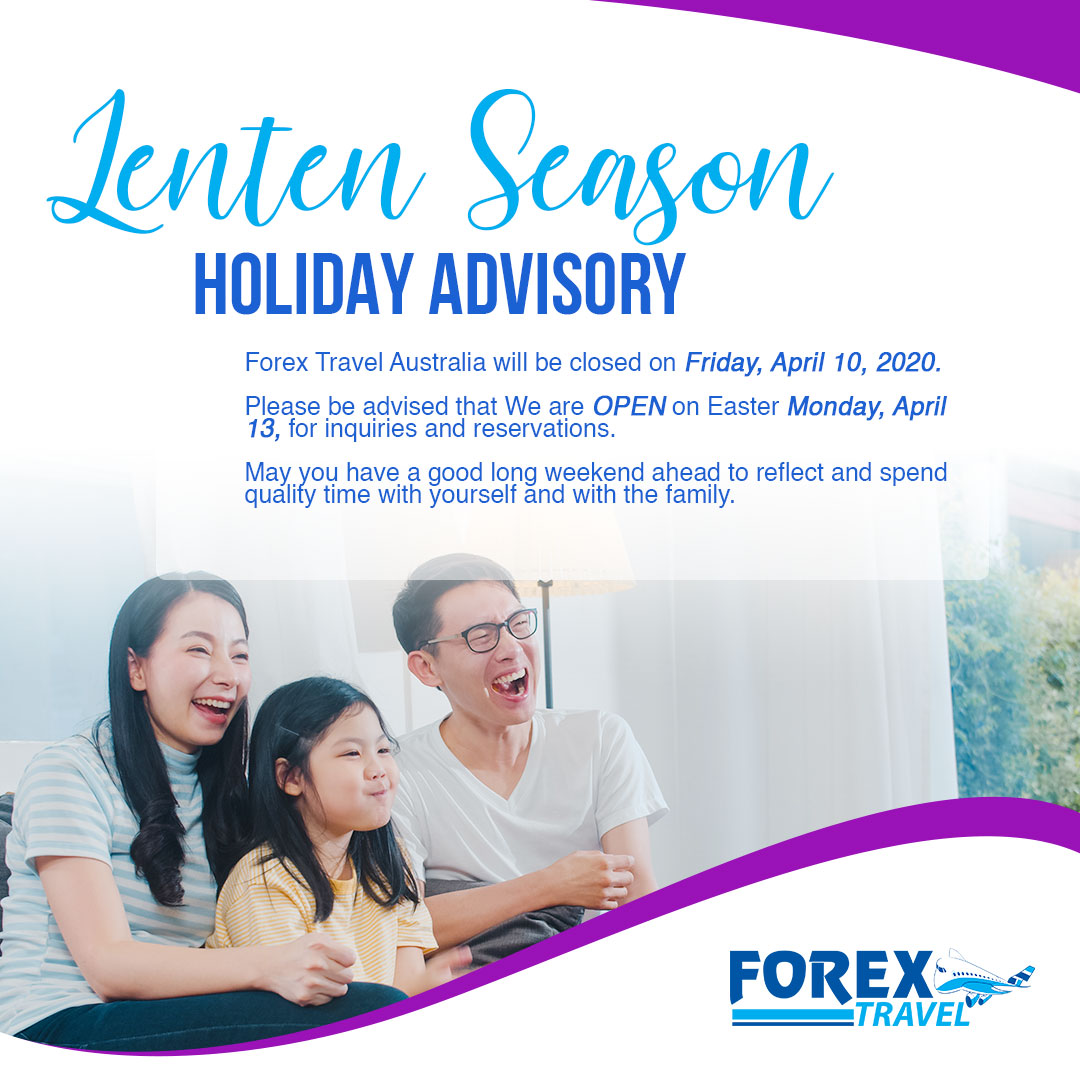 Forex Travel Advisory